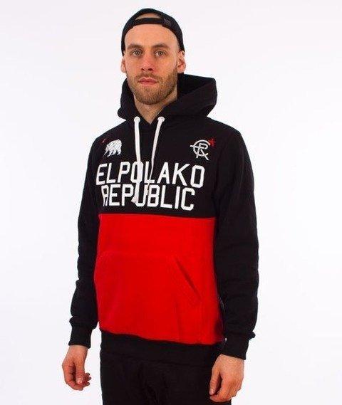 El Polako-Republic Bluza Kaptur Czarna