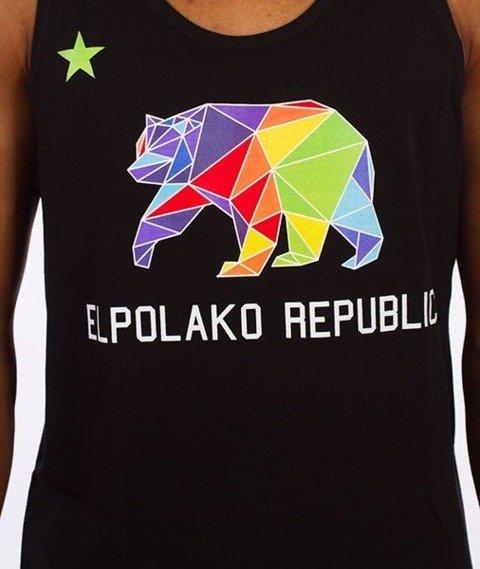 El Polako-Republic Tank-Top Czarny