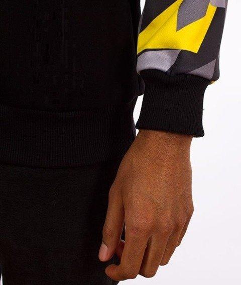 El Polako-Sleeve Crewneck Bluza Triangle Camo Yellow