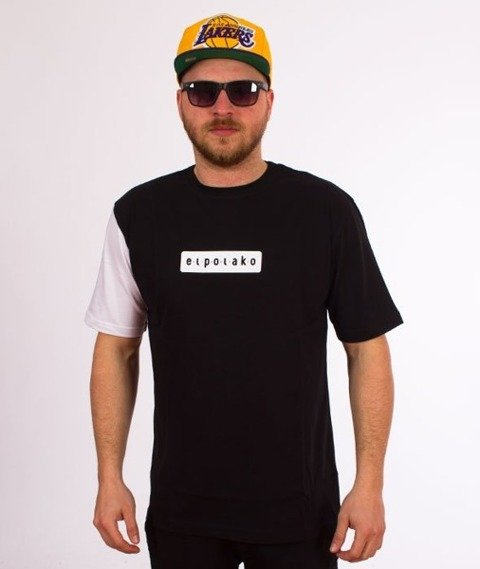 El Polako-Sleeve T-Shirt Czarny