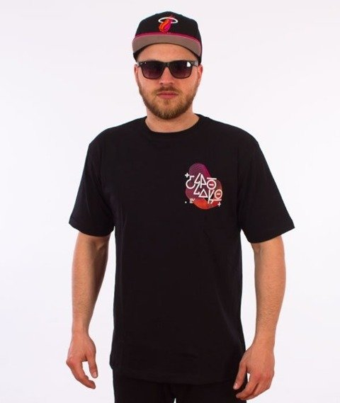 El Polako-Sonar T-Shirt Czarny