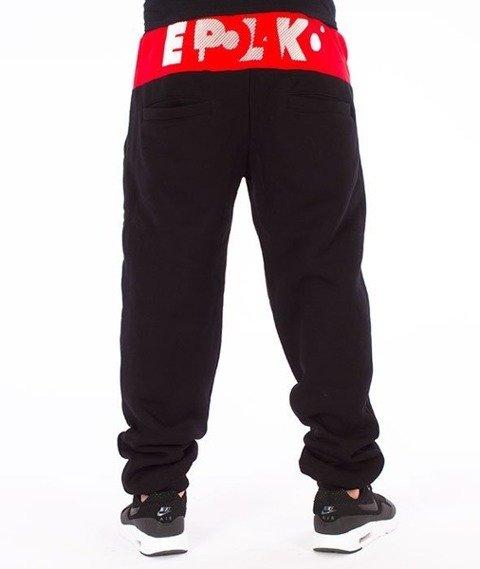 El Polako-Style Premium Spodnie Dresowe Czarne