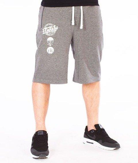 El Polako-Style Spodnie Krótkie Dresowe Grafitowe