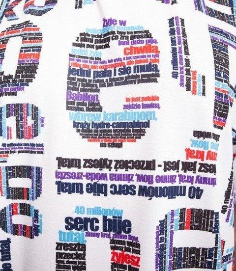 El Polako TXT ELPOLAKO T-Shirt Biały