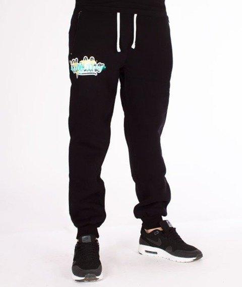 El Polako-Tag Regular Spodnie Dresowe Czarne