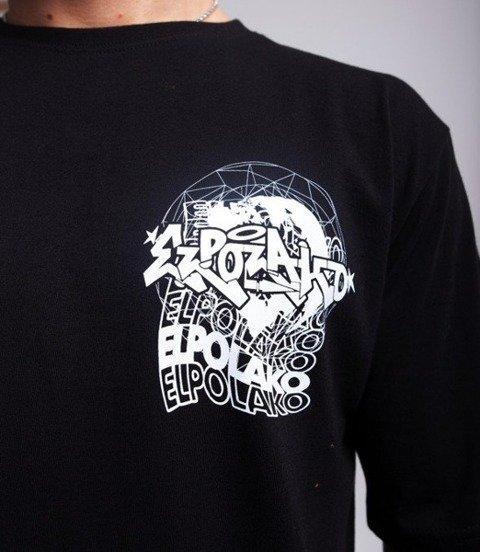 El Polako WORLD WIDE T-Shirt Czarny