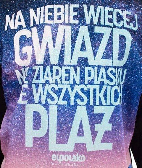 El Polako-Więcej Gwiazd Crewneck Bluza Czarna