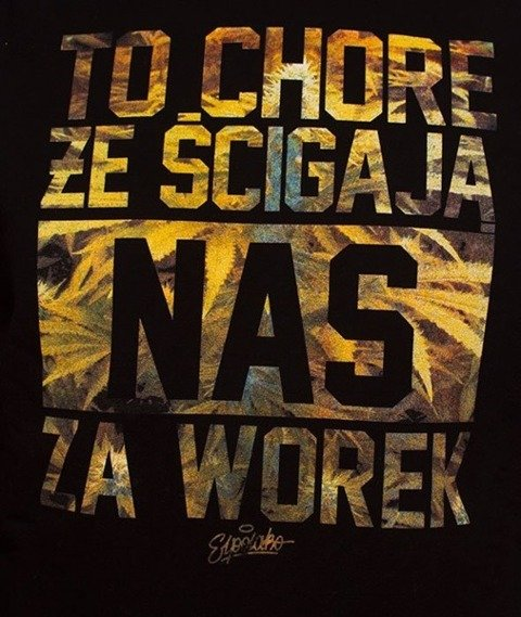 El Polako-Worek Bluza Czarna