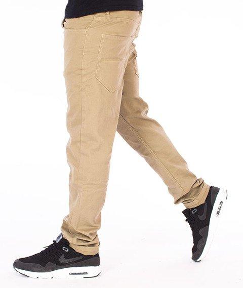 Elade-Chino Chronic Spodnie Materiałowe Beżowe