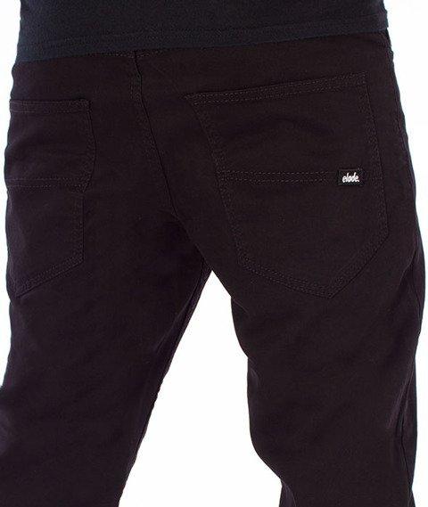 Elade-Chino Chronic Spodnie Materiałowe Czarne