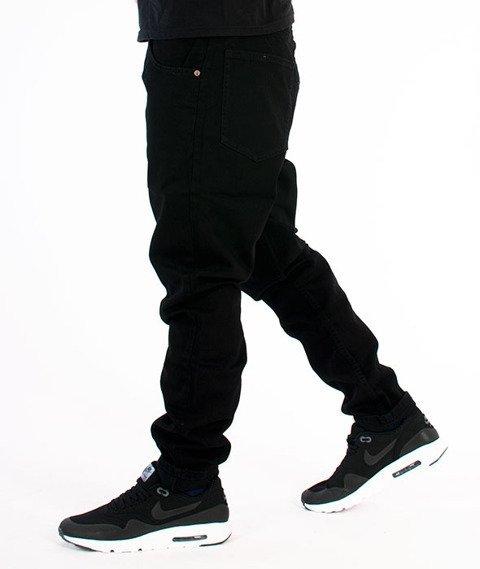 Elade-Classic Denim Spodnie Jeansowe Czarne