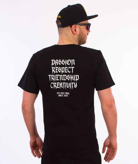 Elade-Our Theory T-Shirt Czarny