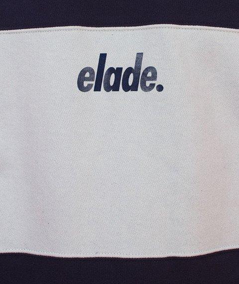 Elade-Two Tone Crewneck Navy/Niebieski