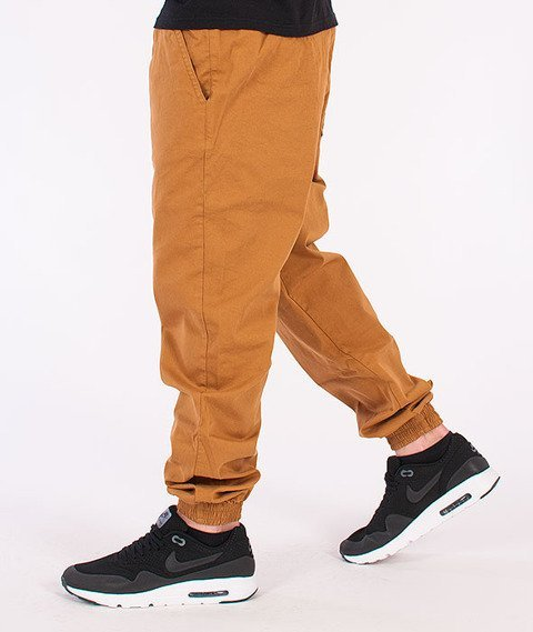 Equalizer-Jogger Spodnie Materiałowe Beżowe