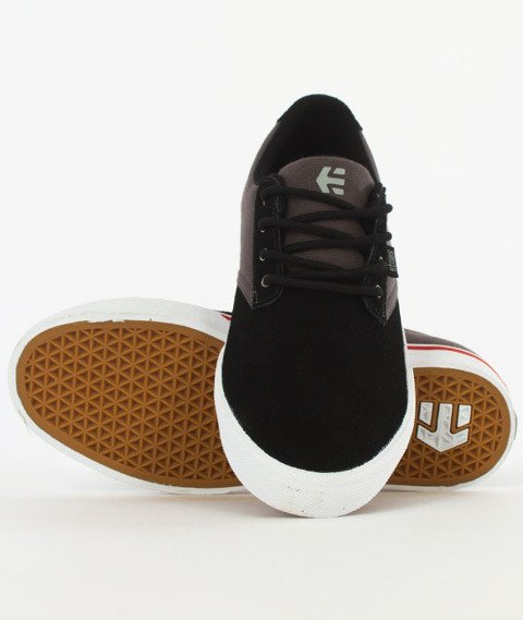 Etnies-Jameson Vulc Black/Dark Grey/Silver