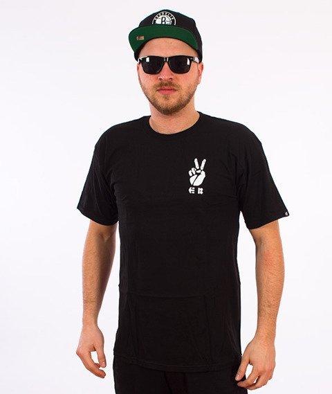 Etnies-Yarn Bomb T-Shirt Czarny