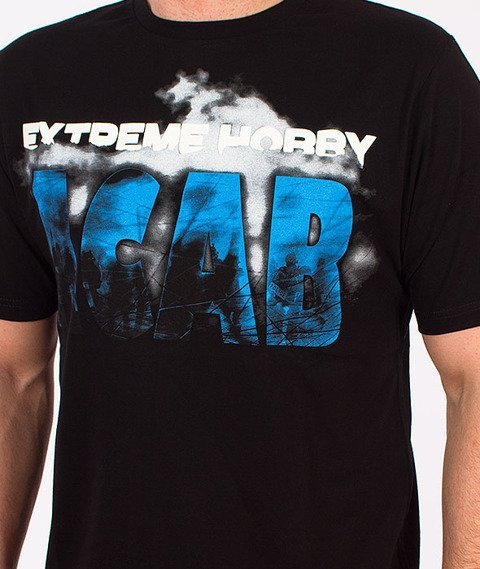 Extreme Hobby-Fuck The Police T-shirt Czarny