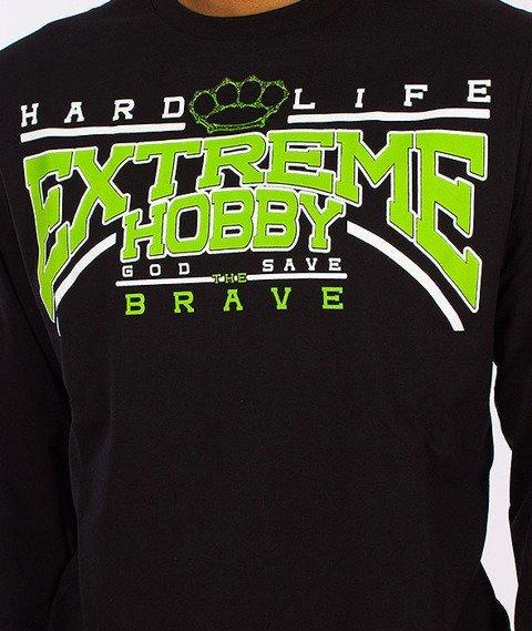 Extreme Hobby-Hard Life Longsleeve Czarny
