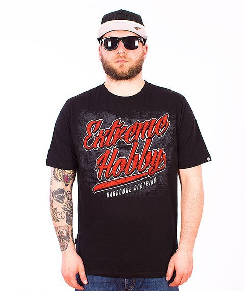 Extreme Hobby-Machete T-shirt Czarny