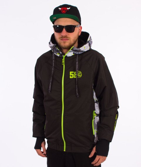Extreme Hobby-Urban Stealth Jacket Kurtka Czarna/Camo/Zielona