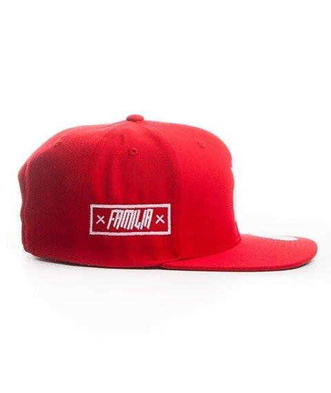 Familia Wear-Granat Snapback Czerwony