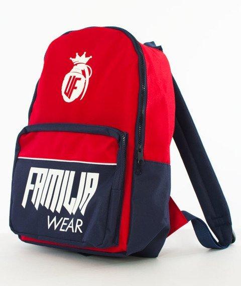 Familia Wear-Plecak Czerwony/Granatowy