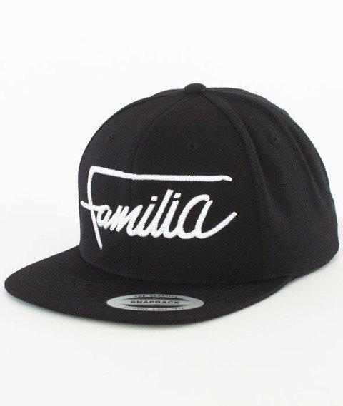 Familia Wear-Script Logo Snapback Czarny