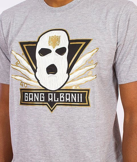 Gang Albanii-Big Kokz T-Shirt Szary