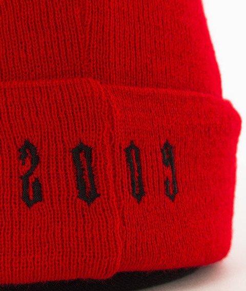Ganja Mafia-Gothic 2009 Czapka Zimowa Red/Black