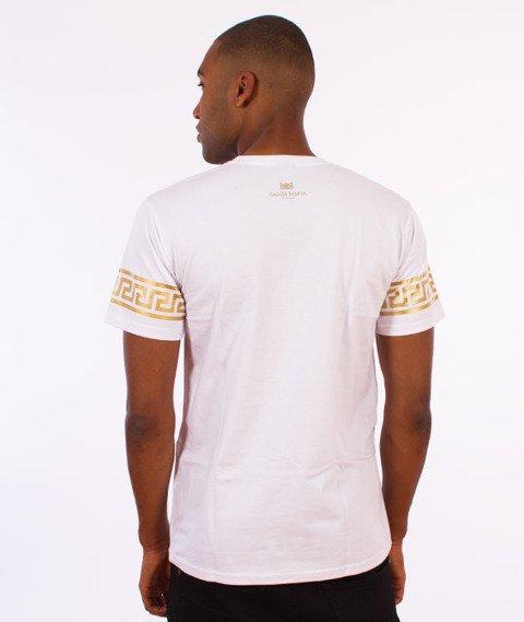 Ganja Mafia-Ka'lion T-Shirt Biały/Złoty