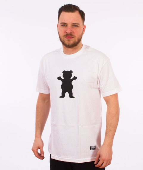 Grizzly-OG Bear Basic T-Shirt White