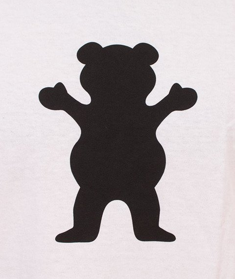 Grizzly-OG Bear Basic T-Shirt White