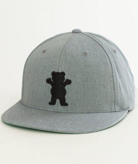 Grizzly-OG Bear Snapback Grey