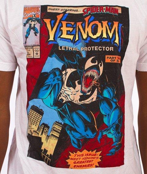 Grizzly-Venom Cover T-Shirt White