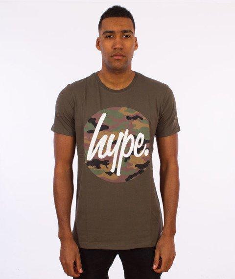 Hype-Camo Script T-Shirt Khaki/Camo