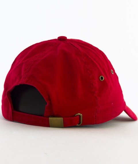 Hype-Cherry Dad Hat Czapka Z Daszkiem Red
