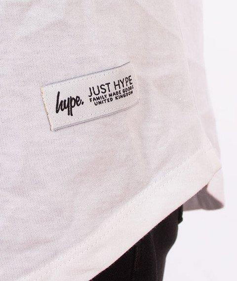 Hype-Script Infill Tank Top Biały/Czarny