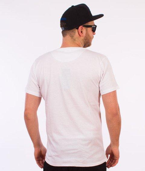 Hype-Spray Script T-Shirt Biały