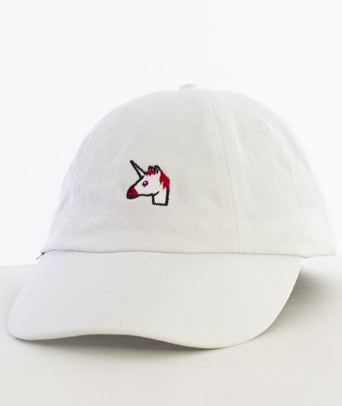 Hype-Unicorn Dad Hat Czapka Z Daszkiem White