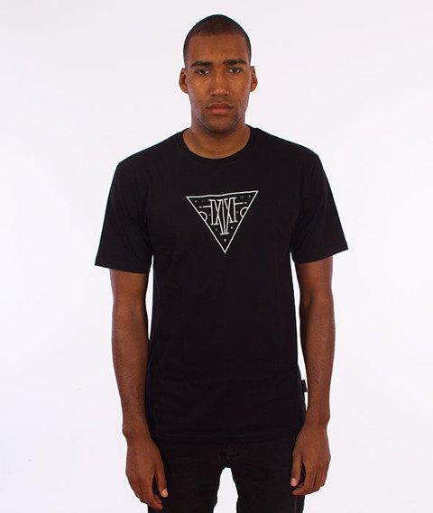 IAM. CLOTHES-Geo T-shirt Czarny