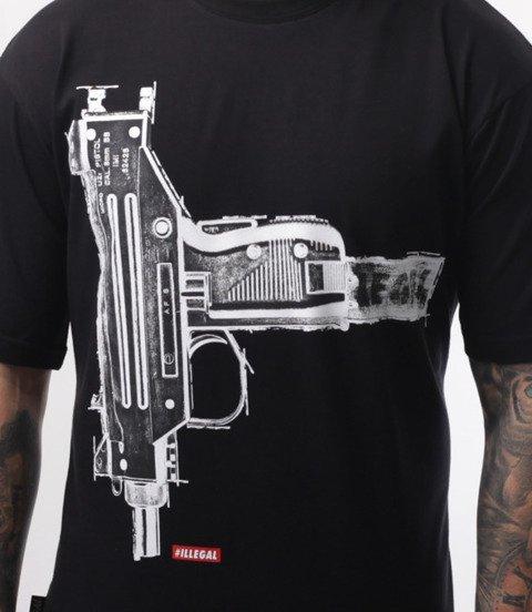 Illegal-Gun T-Shirt Czarny