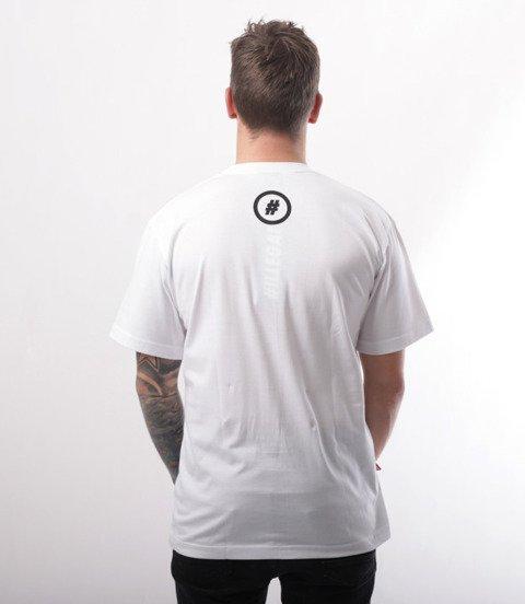 Illegal-Street Brand T-Shirt Biały
