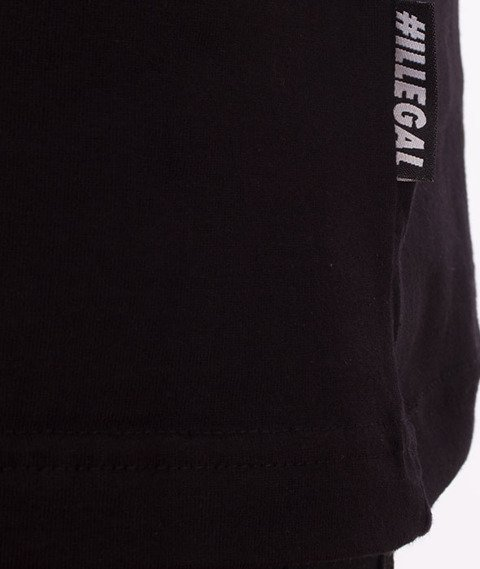 Illegal-Żyleta T-Shirt Czarny