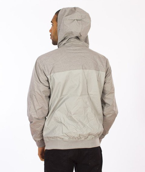 Iriedaily-Auf Flag Mel Jacket Grey Melange