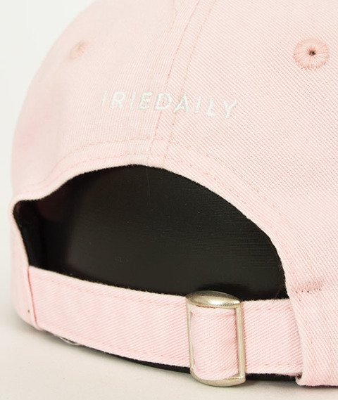 Iriedaily-Dad Flag Snapback Rose