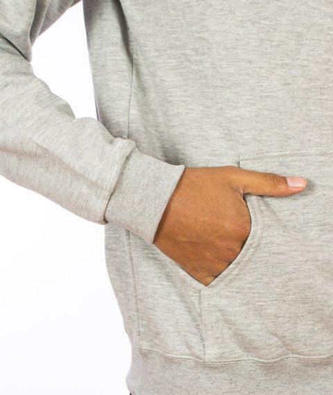 Iriedaily-Daily Flag Hooded Grey Melange