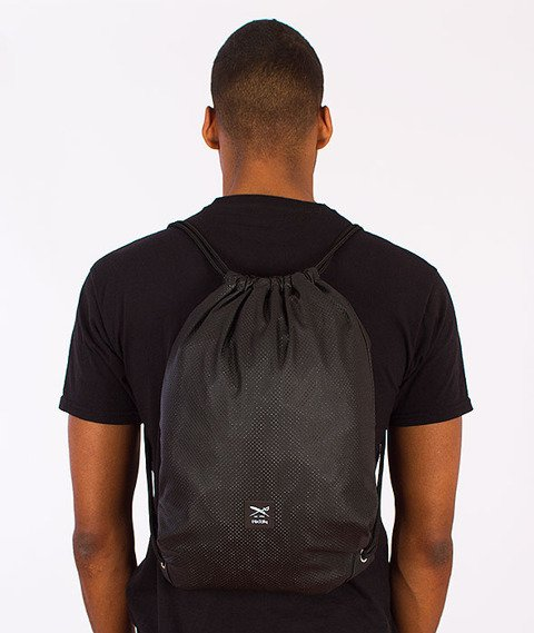 Iriedaily-Dot Flag Sports Bag Black