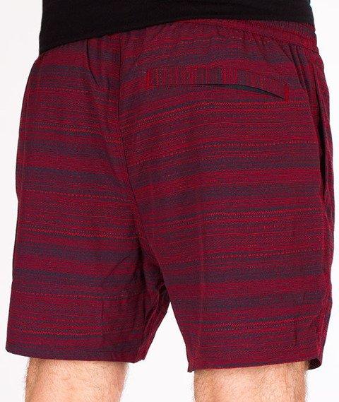 Iriedaily-La Banda 2 Short Spodnie Krótkie Navy Red