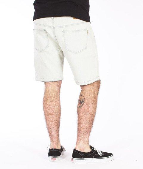 Iriedaily-Slim Short 2 Denim Bleach Wash