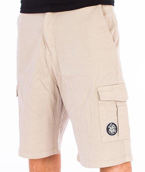 JWP-Cargo Spodnie Krótkie Piaskowe